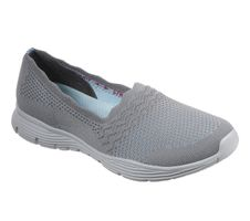 Skechers Womens Modern Comfort SEAGER UMPIRE Slipper Women Grau