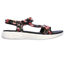 Skechers O-T-G Womens Sandals ON-THE-GO 600 FLEUR Sandalen Women Schwarz
