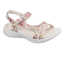 Skechers O-T-G Womens Sandals ON-THE-GO 600 FLEUR Sandalen Women Beige
