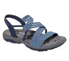 Skechers Modern Comfort Sandals REGGAE SLIM SKECH APPEAL Sandalen Women Blau