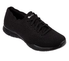 Skechers Womens Modern Comfort SEAGER TRY OUTS Sneakers Women Schwarz