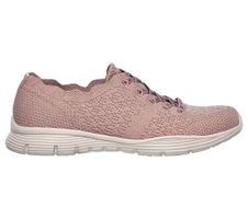 Skechers Womens Modern Comfort SEAGER TRY OUTS Sneakers Women Pink