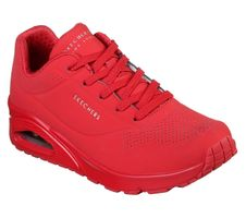 Skecher Street UNO STAND ON AIR Sneakers Women Rot