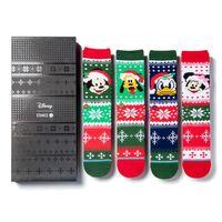 4 Paar Stance Foundation Everyday Light Cushion Socken Disney Claus Box Set