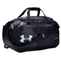 Under Armour UA Undeniable Duffel 4.0 Medium Reisetasche Sporttasche 58 Liter schwarz