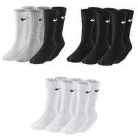 3 Paar Nike Sportsocken Tennis Socken Cushion Crew Strümpfe