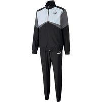 Puma CB Retro Suit Woven CL Trainigsanzug Herren Fußball Sportanzug 581598 01 schwarz