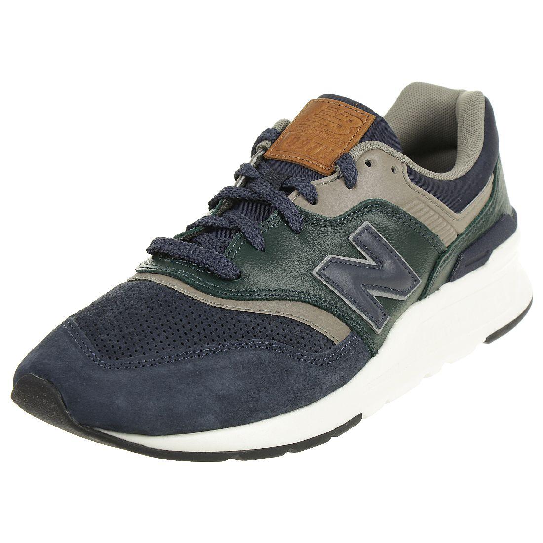 New Balance CM997 HXB Sneaker Herren Schuhe Blau/Grün ...