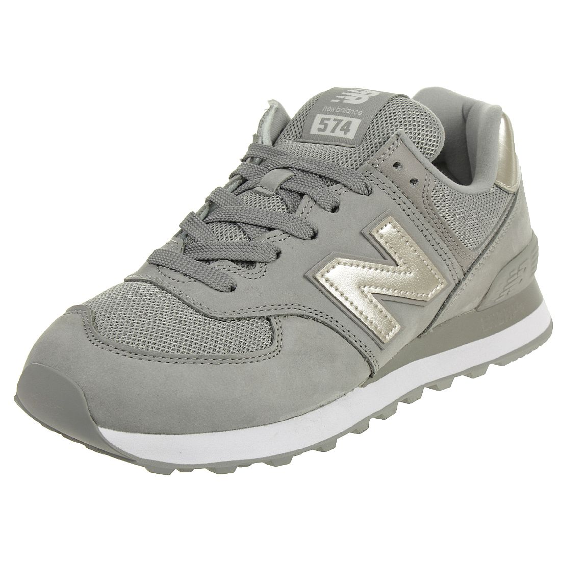 New Balance WL574 WNK Classic Sneaker Damen Schuhe grau ...