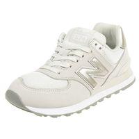 New Balance WL574 WNO Classic Sneaker Damen Schuhe grau