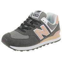 New Balance WL574 NDB Classic Sneaker Damen Schuhe grau