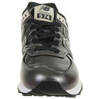 New Balance WL574 WNF Classic Sneaker Damen Schuhe metallic schwarz