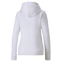 PUMA Damen Amplified Hoody TR Sweatshirt Kapuzenpullover 581220 Weiß