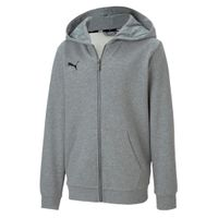 PUMA Kinder teamGOAL 23 Casuals Hooded Jacket Jr Kapuzenjacke Sweatjacke 656714
