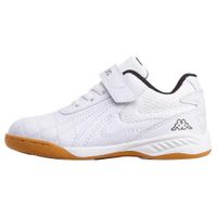 Kappa Kinder FURBO K Hallensportschuh Sneaker Indoor 260776 Weiß