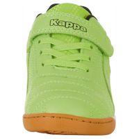 Kappa Kinder FURBO K Hallensportschuh Sneaker Indoor 260776 Grün