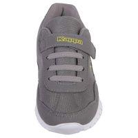 Kappa Follow K Kinder Sneaker Turnschuh Unisex 260604K Grau