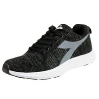 Diadora Dinamica W Damen Sneaker Fitnessschuh C7406 Schwarz / Weiß
