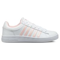K-SWISS Court Winston Damen Sneaker Sportschuh 96154-104-M Weiß / Rosa