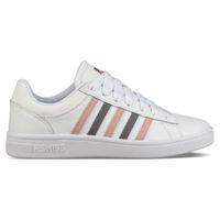 K-SWISS Court Winston Damen Sneaker Sportschuh 96154-152-M White / Pink / Mauve