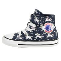 Converse CTAS 1V Hi Kleinkinder Hi-Top Sneaker Unicons Hook and Loop Blau