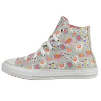 Converse Unisex Kinder CT All Star Lama Party Hi-Top Sneaker 666293C Grau