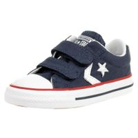 Converse Kinder Unisex STAR PLYR 3V Ox Sneaker Low-Top 715467 Blau
