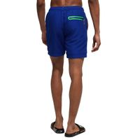 Superdry Herren Water Polo Swim Short Badehose Schwimmhose M30018AT Blau