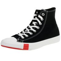 Converse Unisex Logo Play Chuck Taylor AS High-Top Sneaker 166734C Schwarz