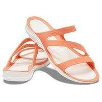 Crocs Swiftwater Sandal W Damen Sandale Badelatsche 203998 Orange