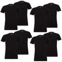8er Pack Levis Solid Crew T-Shirt Men Herren Unterhemd Rundhals Stretch Cotton