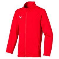 PUMA Kinder LIGA Sideline Poly Jacket Core Jr Trainingsjacke 655947 Rot