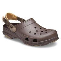 Crocs Classic All Terrain Clog Roomy Fit Unisex Sandale Hausschuh 206340 Braun