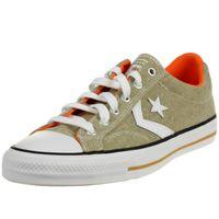 Converse STAR PLAYER OX Schuhe Sneaker Canvas Unisex Braun 167670C