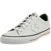 Converse STAR PLAYER OX Schuhe Sneaker Canvas Unisex Weiß 167671C