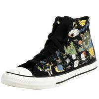 Converse Camp Converse Chuck Taylor High Top Kinder Unisex Sneaker 667527C Schwarz