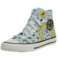 Converse Camp Converse Chuck Taylor All Star High Top Unisex Kinder Sneaker 767899C Blau