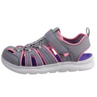 Skechers Girls C-FLEX SANDAL 2.0 PLAYFUL TREK Sandalen Kids Grau