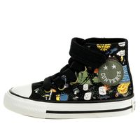 Converse Camp Converse Easy-On Chuck Taylor All Star High Top Sneaker Kinder 767531C Schwarz