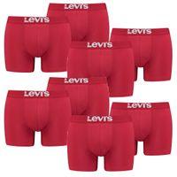 8er Pack Herren Levis Solid Basic Boxer Brief Boxershorts Unterwäsche Pants