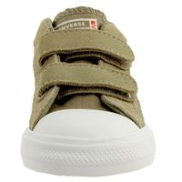 Converse INF Star Player 2V OX Kinder Klett 767549C braun