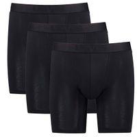 3er Pack Levis Herren Movement Tencel Long Boxer Shorts Unterhose Pant Unterwäsche