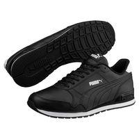 Puma ST Runner v2 Full L Unisex Sneaker Turnschuhe 365277 Schwarz /Weiß