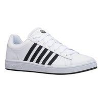 K-SWISS Court Winston Herren Sneaker Sportschuh 06154-117-M Weiß/Schwarz