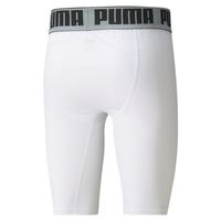 PUMA BBall Compression Shorts Herren Basketball Sport Hose 605078 Weiß