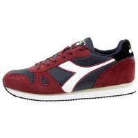 Diadora Simple Run Herren Sneaker Sportschuh Rot