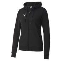 PUMA Damen teamGOAL 23 Casuals Hooded Jacket W Trainingsjacke 657083 Schwarz