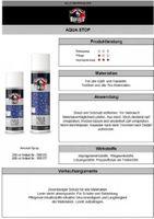 Bufalo Aqua Stop Imprägnierspray neutral Nässeschutz Schmutzabweisung 250 ml