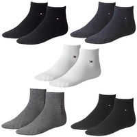 2 Paar TOMMY HILFIGER Herren Quarter Socken Gr. 39 - 46 Business Sneaker Socken