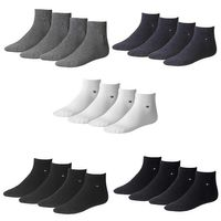4 Paar TOMMY HILFIGER Herren Quarter Socken Gr. 39 - 49 Business Socken